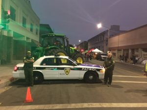 Security Patrol as Salinas Parade of Lights