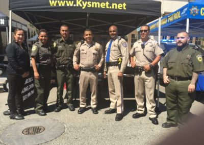 Kysmet Security with Salinas Police Department