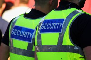 Kysmet Security Guards at Public Event